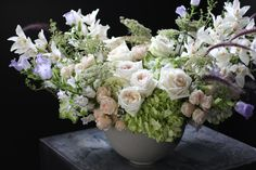 Over-the-top floral luxury: 'Cottage Opulence' by Winston Flowers.