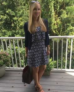 Loving this adorable elephant dress by #crownandivy from @belk #corporatestyle #ssworkwear #fashionblogger #workchic. Check out the details on my blog http://ift.tt/2d97hvJ