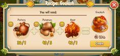 Golden Frontier Goulash Recipe