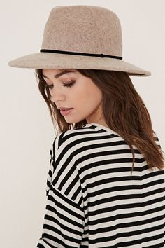 Pin for Later: 35 Stylish Items You Won't Regret Wearing on the Plane  Forever 21 Classic Wool Fedora ($23)
