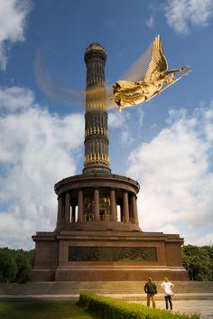 """fotoriosa.de, Siegessäule, """"Flieg Else, flieg!"""""""