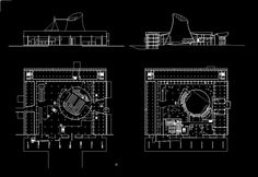Le Corbusier-Palace of Assembly | Free Cad Blocks & Drawings Download Center