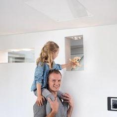 Heizen mit Infrarot:  Ob Neubau, Sanierung oder Zusatzheizung - Infrarotheizungen von easyTherm sind ideal für jeden Raum geeignet. Sie sind kostengünstig, energieeffizient und überzeugen mit Ihrem modernen Design New Construction, Contemporary Design, Bathing, Homes
