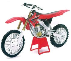 Honda CRF450R 2008 1:12 scale diecast motorcycle by Newray