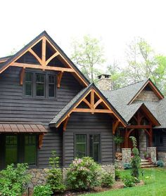 http://mountainmodernlife.com/15-modern-rustic-homes-with-black-exteriors/