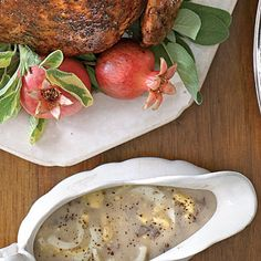 Old-Fashioned Giblet-Egg Gravy - 102 Best Thanksgiving Side Dish Recipes - Southern Living