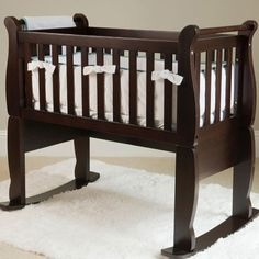Now & Forever Wooden Cradle in Choice of Color