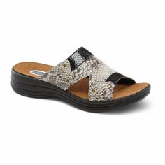 9197a900a4a0 Dr. Comfort Karen Women s Comfort Extra Depth Sandal  Black 9 Medium Wide (
