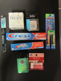 These are great hygiene items to include in everyshoebox!