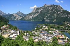 Ebensee is set on the south banks of Traunsee Lake amidst spectacular Salzkammergut, the land of towering mountains and emerald green lakes. Offering everything you could possible desire for your most complete summer or winter vacation. Visit Austria, Hotels, Windsurfing, Central Europe, Homeland, Mount Everest, To Go, River, Vacation