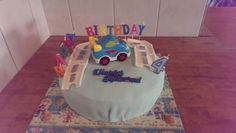 Raff his birthday cake
