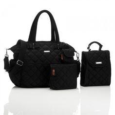 Storksak Bobby Black | Diaper Bags | Bags | Mom
