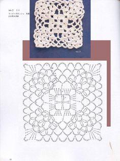 crochet motif 23
