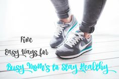 It is so important to stay healthy and with this wonderful but busy season approaching, put these  5 Easy Ways for Busy Moms to Stay Healthy in play for you to enjoy all the festivities! #ad