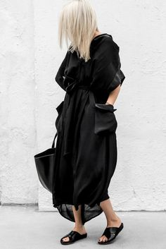 DKNY Belted Cotton-Poplin Dress And ATP Atelier Dorris Leather Sandals Tumblr Cool Style