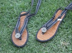 DIY flip flops to gladiators!
