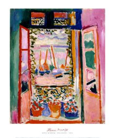 Open Window, Collioure, 1905 Art Print at AllPosters.com
