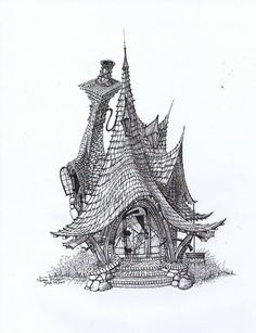 Sweeping Cottage by ArkDezigner.deviantart.com on @deviantART
