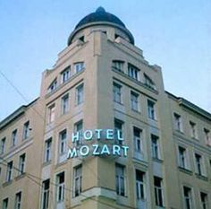 Mozart Hotel - Vienna Austria, Stone Sculpture, Places Ive Been, Multi Story Building, Architecture, Hotels, Vienna, Alps, Woods