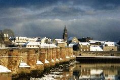 The medieval walls of Berwick Upon Tweed