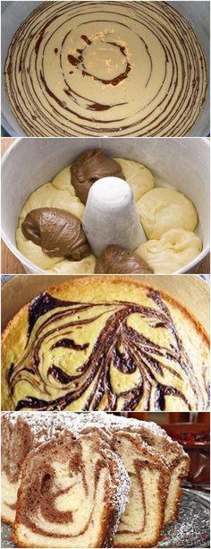 HOJE TEM BATE PAPO COM AS AMIGAS? RECEITA DE UM LINDO E DELICIOSO BOLO…FÁCIL DE PREPARAR!! VEJA AQUI>>>No liquitificador bata os ovos, o açúcar e a margarina #receita#bolo#torta#doce#sobremesa#aniversario#pudim#mousse#pave#Cheesecake#chocolate#confeitaria# Dessert Recipes, Desserts, Cheesecake, Camembert Cheese, Pancakes, Chocolate, Bread, Breakfast, Mousse