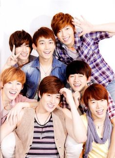 U-Kiss may i just point out kevin looks super cute in this pic
