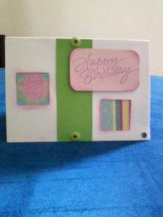 simple bday card