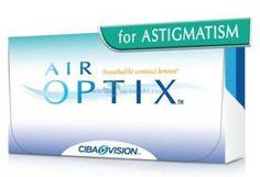 Soczewki kontaktowe AirOptix for Astigmatism 3 szt. - soczewki miesięczne, toryczne
