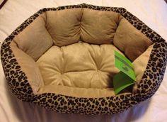 Small Lepard Pet Bed NWT picclick.com