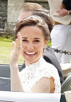 Why We Love Pippa's Wedding Beauty Look Pippa Middleton Wedding, Middleton Family, Kate Middleton, Pippas Wedding, Wedding Beauty, Wedding Ideas, Celebrity Makeup Looks, Celebrity Style, Pippa And James