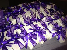Purple Wedding Favors Purple Wedding Favors, Peacock Wedding, Gold Wedding, Wedding App, Wedding Planner, Purple Peacock, Wedding Inspiration, Wedding Ideas, Bridesmaids And Groomsmen
