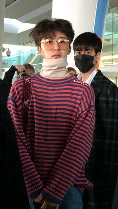 O melhor é o Chanwoo atrás