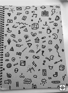 What cool little doodles! These would be great for your Bullet Journal , -- Jaye January Small Drawings, Kawaii Drawings, Doodle Drawings, Easy Drawings, Doodle Art, Hand Doodles, Cute Doodles, Sharpie Tattoos, Sketch Note