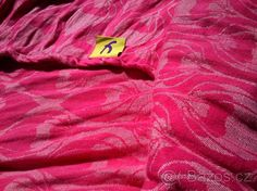 Šátek na nošení Yaro La Fleur Rose s konopím vel.3 - 1