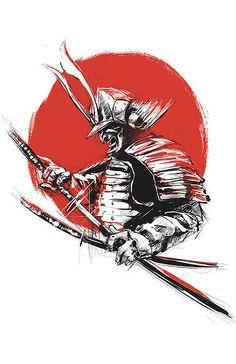 Japanese Artwork, Japanese Tattoo Art, Japanese Tattoo Designs, Samurai Warrior Tattoo, Ronin Samurai, Samurai Artwork, Metal Artwork, Japan Art, Vector Art