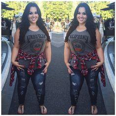 Sarah Rae Vargas - keeping it casual but beautiful. Instagram tianna_sierra