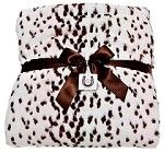 Pink Snow Leopard Adult Throw