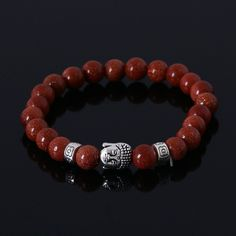 Beautiful Natural Stone Bead Bracelet. Limited supply, pick up yours today.