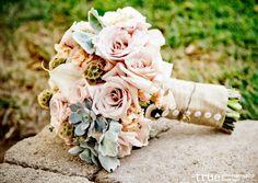 A ranch-style wedding with flowers by Blush Botanicals - www.blushbotanicals.com