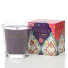 Lotus Garden Pacifica candle for women