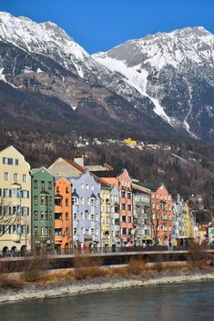 Innsbruck, Austria: From the alpine views to the pastel-colored buildings lining the River Inn - a tributary of the Danube - Innsbruck's  city center is well worth a visit before hitting the slopes.