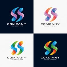 Abstract Letter S logo design for sale