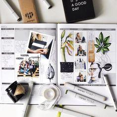 The diary. Март выдался меланхоличным. Люблю смену сезонов и погоды. А ещё, нашла крутую команду @instamag_ru, так что теперь в дневнике к рисункам прибавились фоточки с друзьями. Тут мы с лисичками @maxgoodz и Юлей @juliabarminova, а на портрете Nick Cave, если что. Классный был месяц! #copicmarkers #markers #sketch #sketchbook #passionplanner #visualdiary_art #visualdiary #rastorgueva_calendar