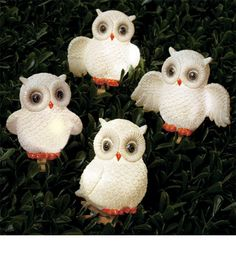 Solar owls for your garden or walkway outside, $11.95