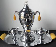 Hey, I found this really awesome Etsy listing at https://www.etsy.com/listing/206842428/vintage-continental-silver-co-chrome-and