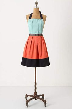 I might start cooking more if I could wear something like this. :) Adorbs from Anthropologie.