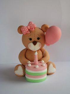 teddy bear fondant figures - Google Search