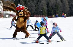 Obereggen for Families - Puro divertimento in famiglia! Gaudi, Schnee Party, South Tyrol, Winter Holidays, Trekking, The Good Place, Skiing, Family Ski, Bears