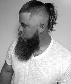 25 Popular Haircuts For Men 2017 - Long Hair Undercut Viking Chic  #Frisuren #Männer #Trends
