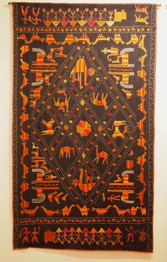 Reclaiming the Lost Embroidered Garden: The Bagh and Phulkari Embroideries of Punjab - Garland Magazine Phulkari Embroidery, Hand Embroidery, Embroidery Designs, Indian Textiles, Design Research, Textile Fabrics, Carpets, Garland, Ornament